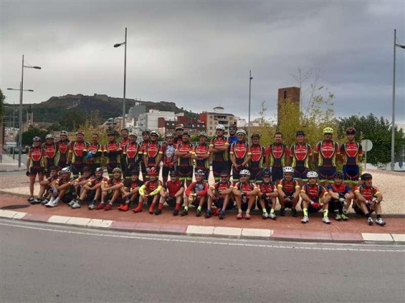 Socios del Club Ciclista Sagunt. EPDA