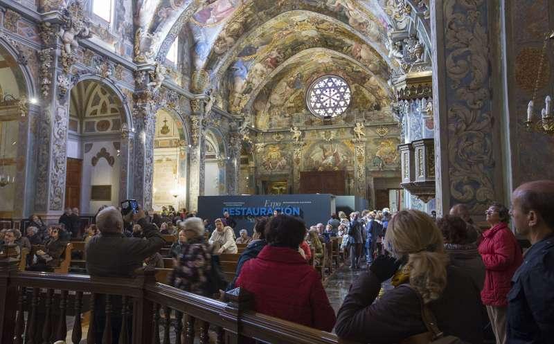 La parroquia de San Nicolás de Valencia, restaurada