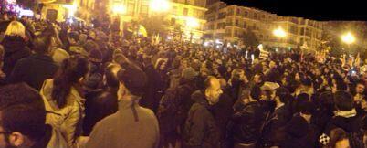 Imagen de la manifestación. FOTO: EPDA