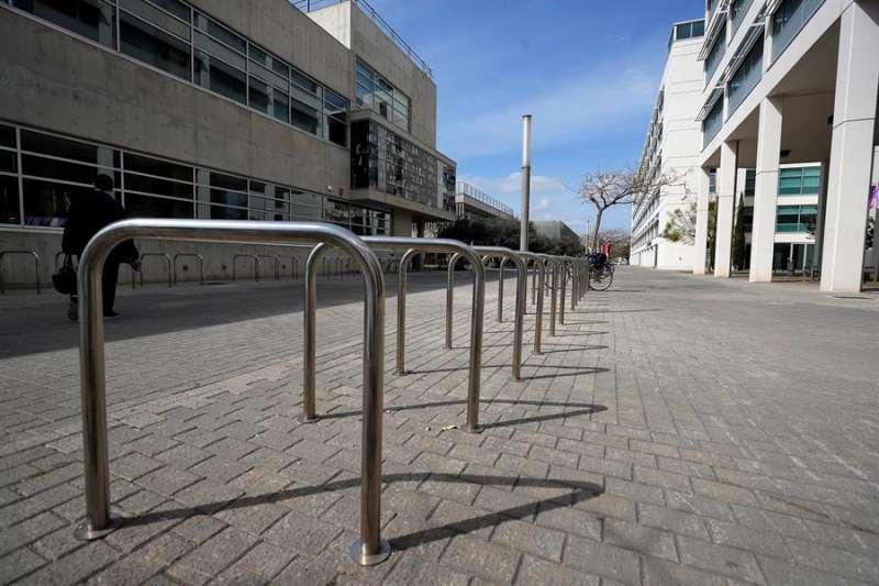 En la imagen la facultad de Magisterio de la Universitat de València. EFE