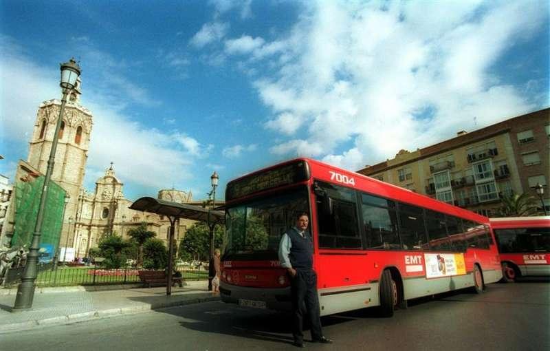 Un aspecto de la plaza de la Virgen de València. EFE/Archivo