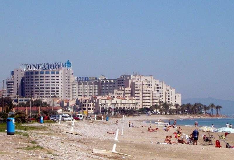 Vista general del complejo turístico Marina d
