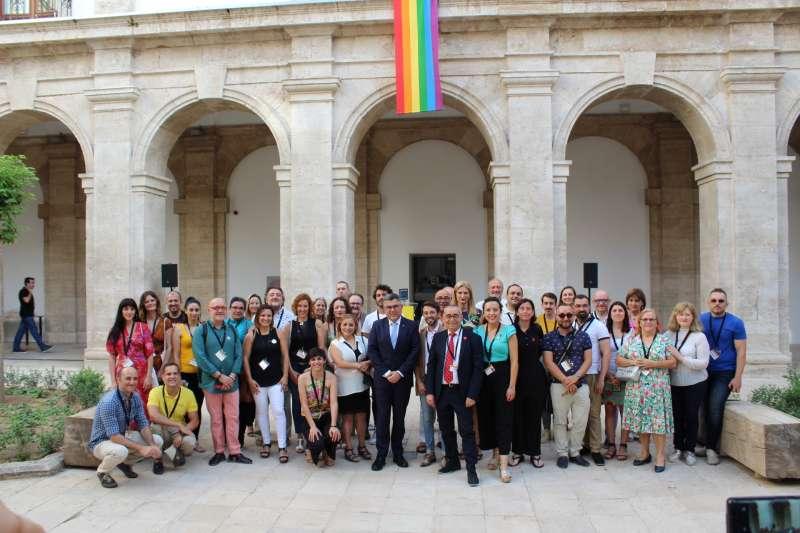 Recepción a entidades, colectivos y activistas LGTBI. EPDA