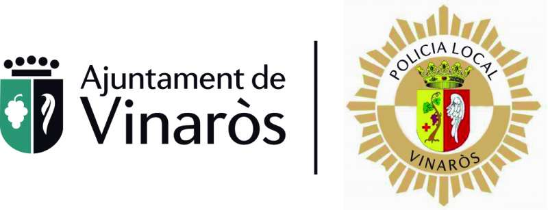 Eslogan Ajuntament i Policía local de Vinaròs