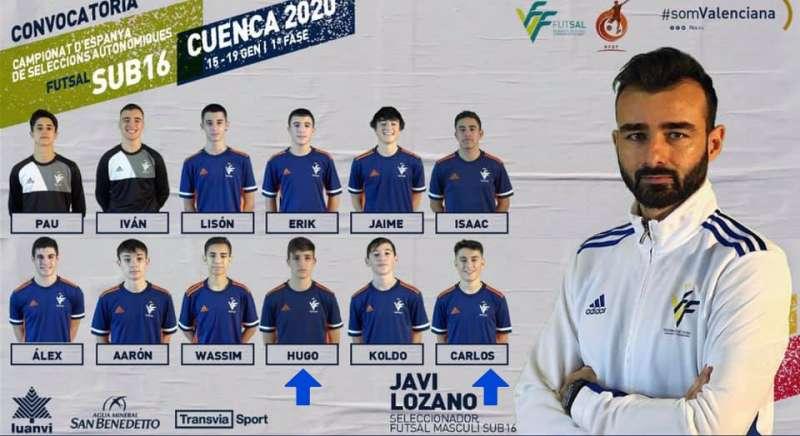 Selección y entrenador