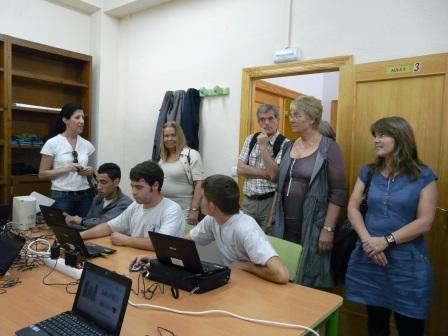 La entidad francesa Crysalis visita Laurona. Foto EPDA