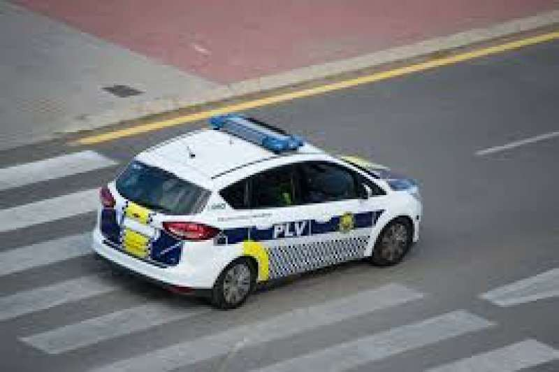 Coche de la policía local de València. EPDA