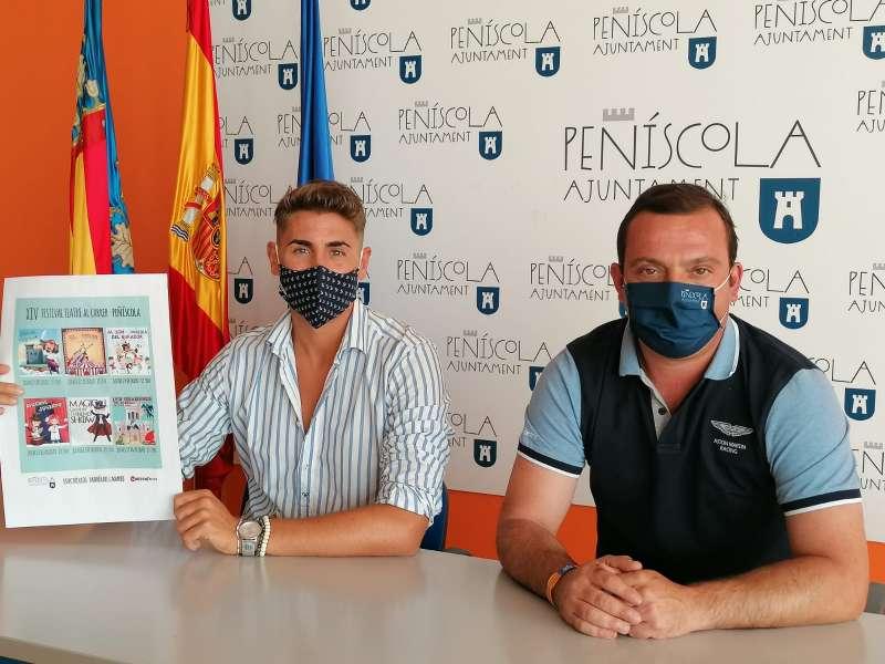 La concejalía de Cultura del Ayuntamiento de Peñíscola.