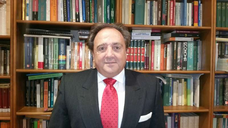 El economista Josu Imanol Delgado. EPDA