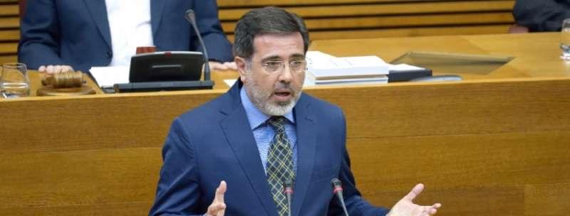 El diputado del Grupo Parlamentario Popular en Les Corts Alfredo Castelló