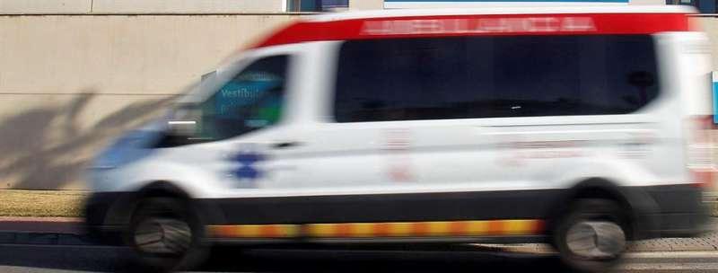 Foto ambulancia archivo EFE