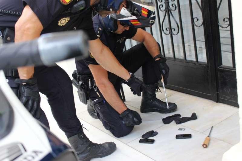 Material utilizado para robos con el método del