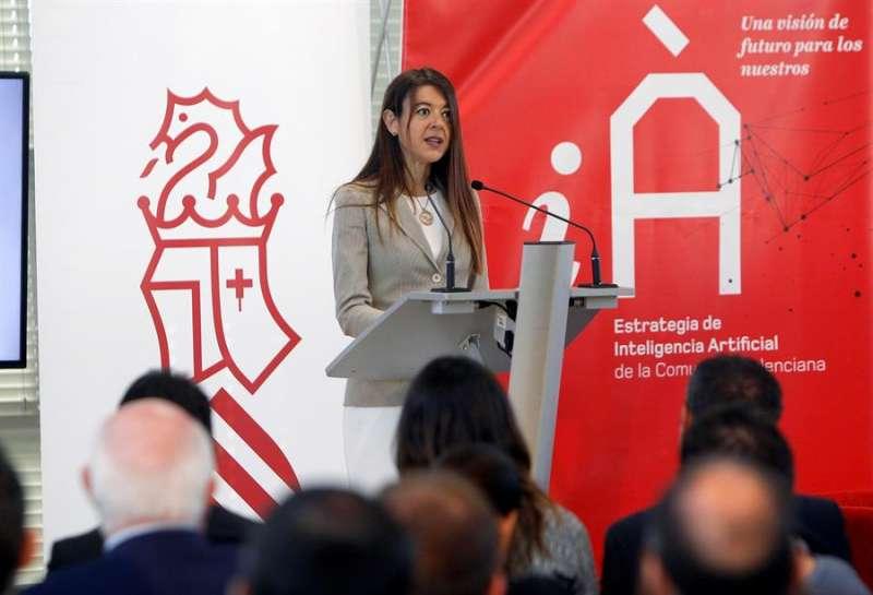 La consellera de Innovación, Carolina Pascual. EFE/Morell