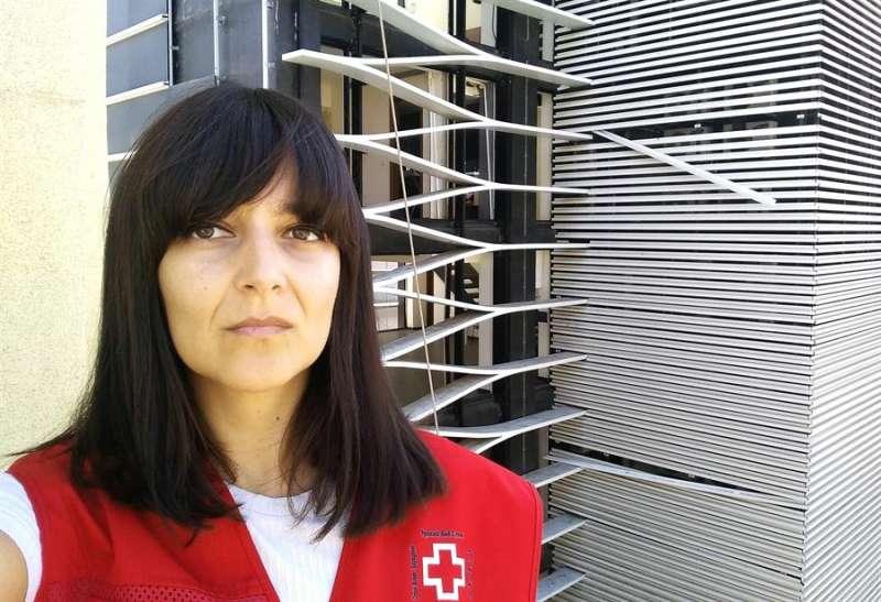 Entrevista con Ana López, la cooperante que coordina los proyectos sanitarios que Cruz Roja Española tiene en Líbano. EFE/Ana López