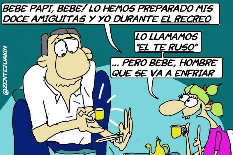La viñeta de Vicente J. García Nebot. EPDA