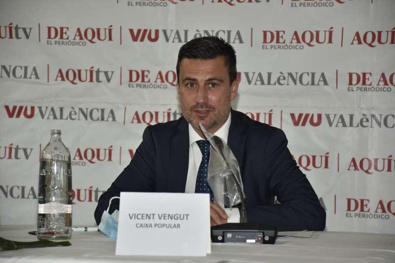 Vicent Vengut, Responsable de Comercios de Caixa Popular. / Plácido González