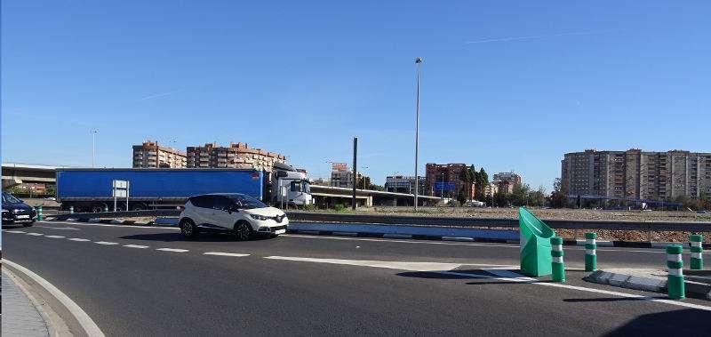 Entrada a Xirivella per plaça Espanya. EPDA