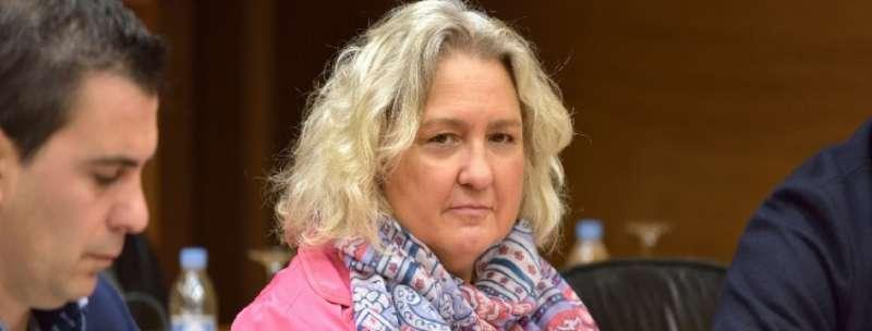 La Portavoz Popular de Justicia, María José Ferrer San-Segundo