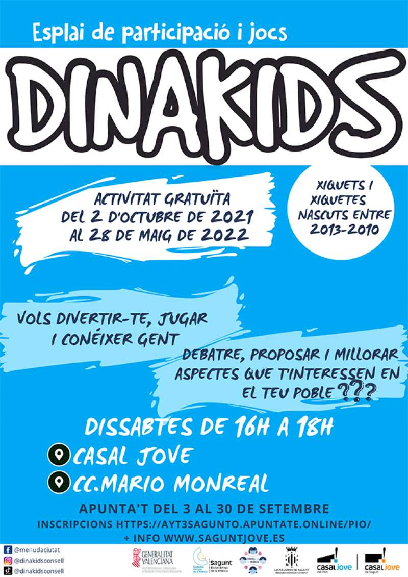 Cartel de Dinakids. / EPDA