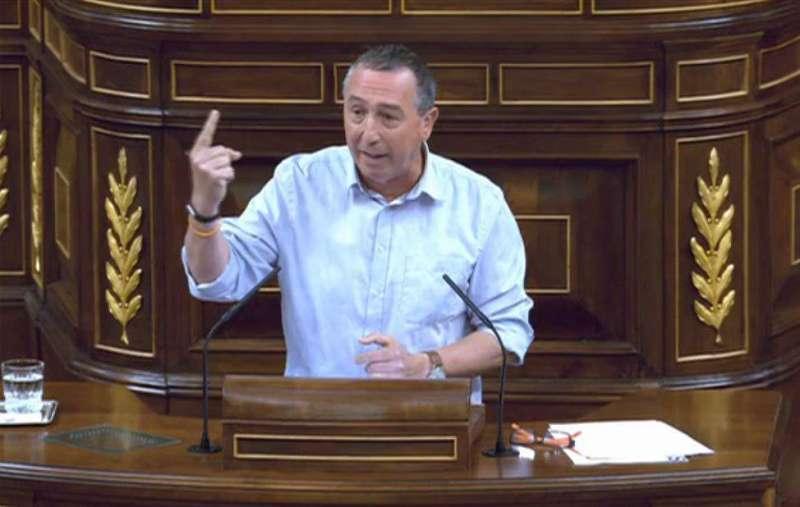 El portaveu de Compromís al Congrés, Joan Baldoví