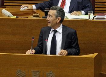 Antonio Torres, portavoz del PSPV en les Corts. FOTO SOCIALISTESVALENCIANS.ORG