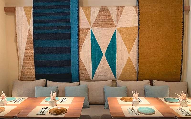 Imagen del nuevo restaurante del Grupo Saona en València. EPDA