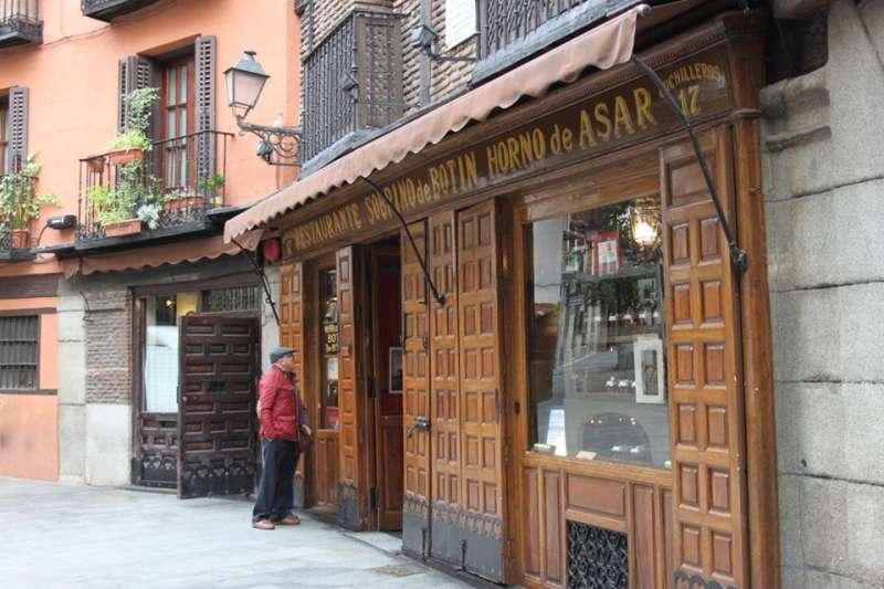 El restaurante fue fundado en 1725