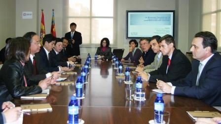 Una delegación china visita la Comunitat para conocer el modelo forestal valenciano. Foto gva.es