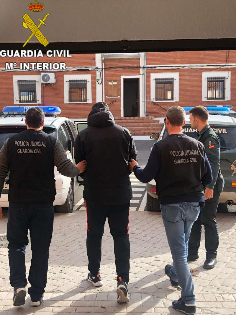 Detención del presunto agresor sexual