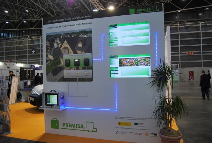 Panel explicativo en la Feria de la Energía. FOTO EPDA