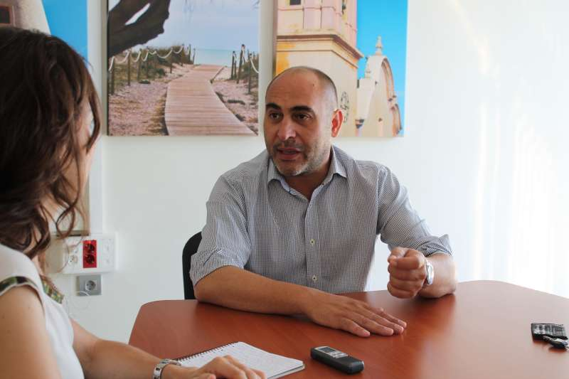 El concejal Rafa Corresa. EPDA