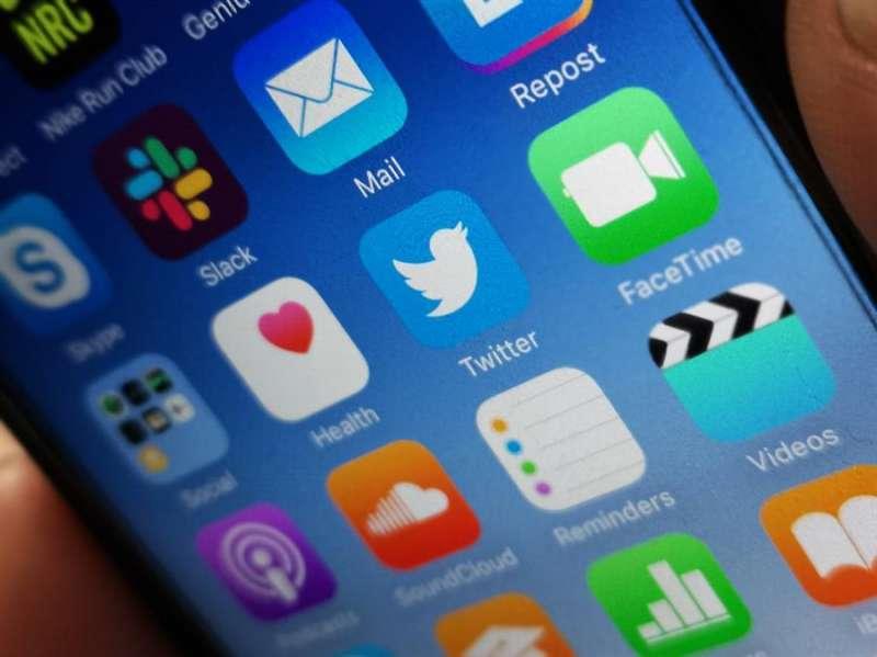 Imagen que muestra el logotipo de la aplicación de la red social Twitter. EFE/Archivo