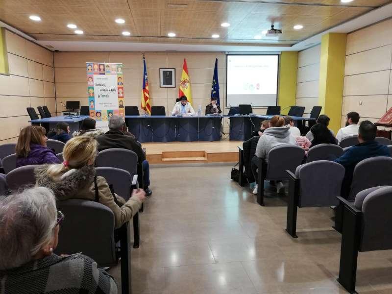 Reunió sobre el pressupostos participatius a La Pobla. EPDA