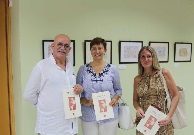 Urbina con Climent y Mª Luisa López