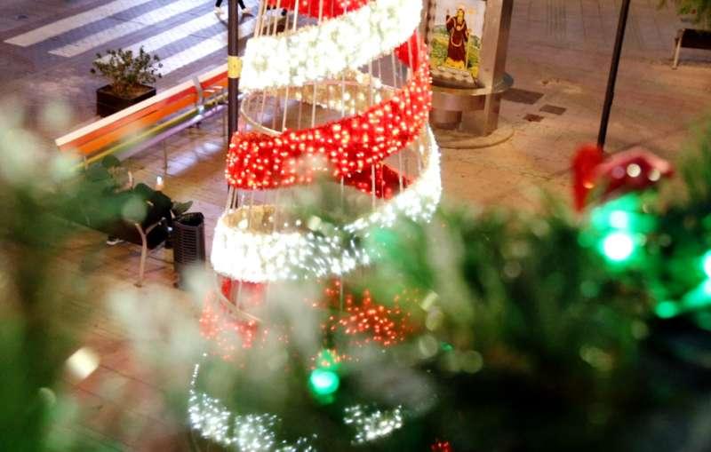 Arbre de nadal a Alaquàs