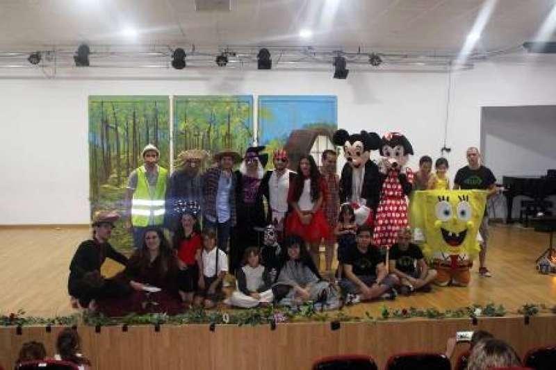 Participantes en la iniciativa solidaria. EPDA