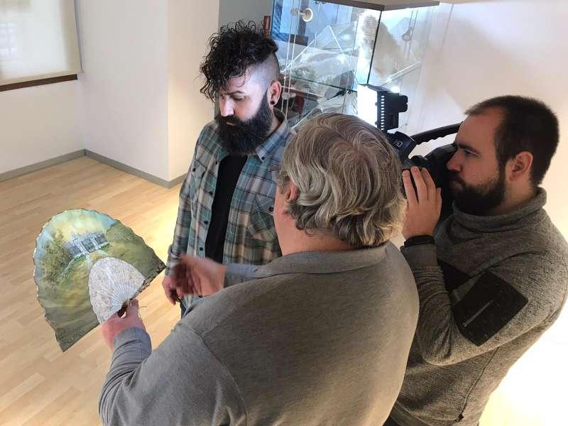 Aldaia expone la artesanía del palmito en FITUR. EPDA