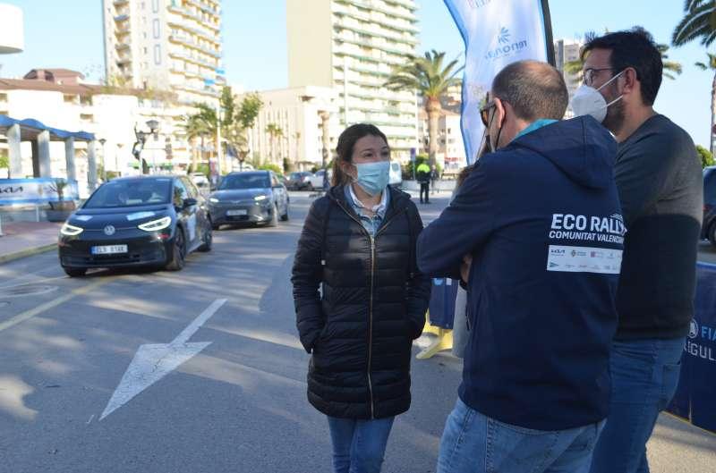 Celebración del Eco Rallye el pasado mes de abril/EPDA