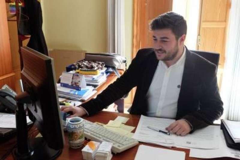 El regidor de Comunicació i primer tinent d?alcalde, Adrián Sorribes. EPDA