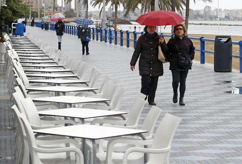 Imagen de archivo una de la terraza en Alicante.EFE/ Morell/Archivo