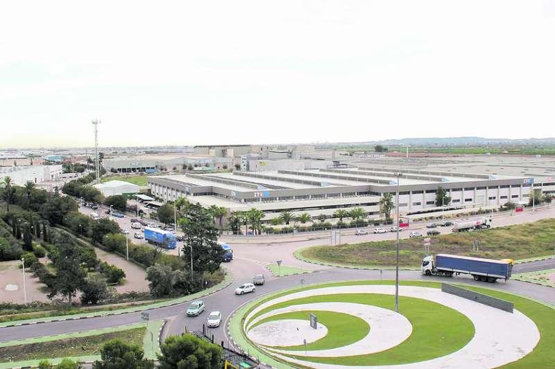 Àrea industrial de Riba-Roja. / EPDA
