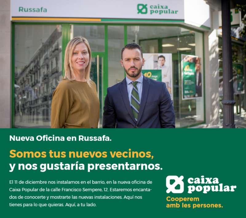 Nueva apertura de Caixa Popular en Valencia.