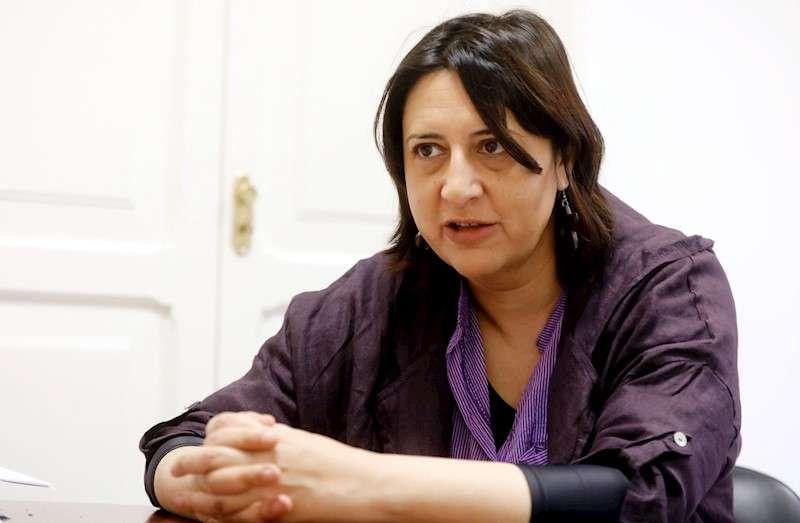 La consellera de Transparencia y coordinadora general de EUPV, Rosa Pérez Garijo. EFE/Archivo