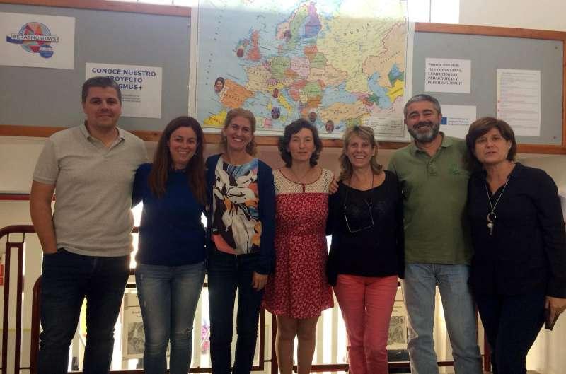 Implicados en el proyecto Erasmus