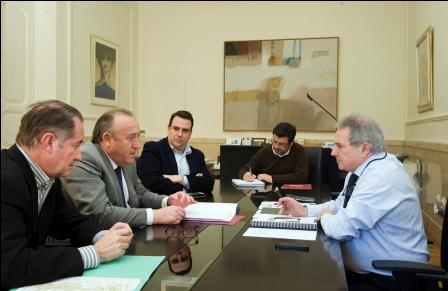El alcalde de la Pobla de Farnals se reúne esta mañana con el Presidente de la Diputación de Valencia.