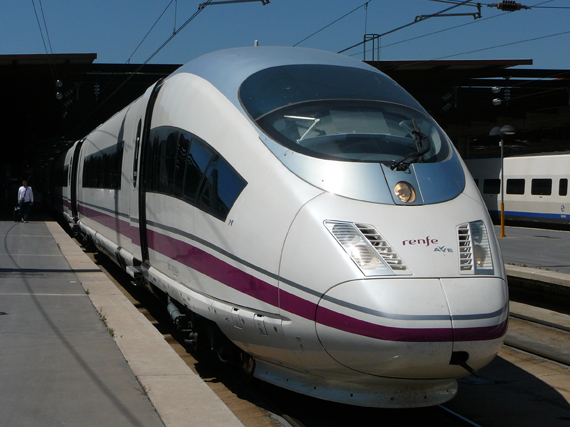 Tren AVE. Foto renfe.com
