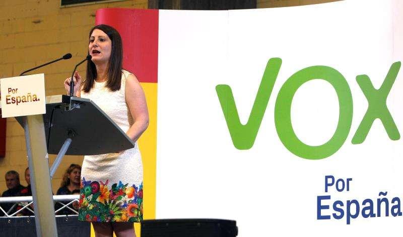 La síndica de Vox en Les Corts Valecianes, Ana Vega. EFE/Archivo