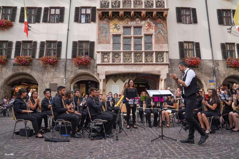 La Banda Sinfónica de Aldaia en Innsbruck. EPDA