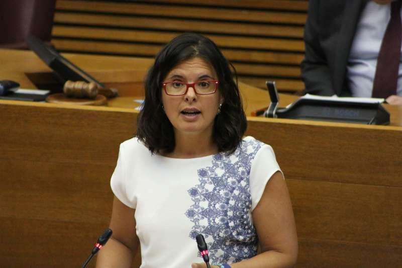 La diputada autonòmica Teresa García.