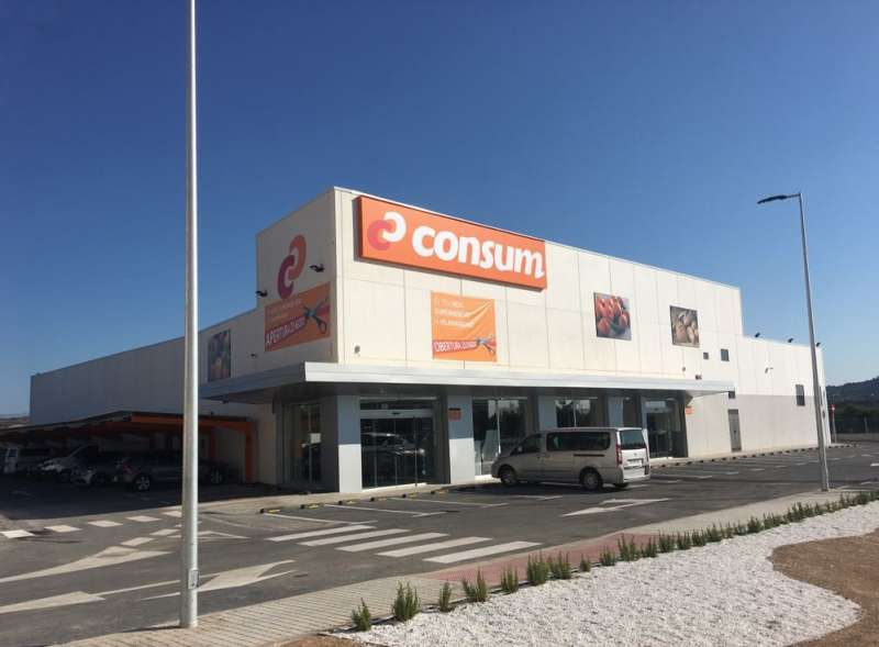 Nuevo supermercado Consum en Vilamarxant.